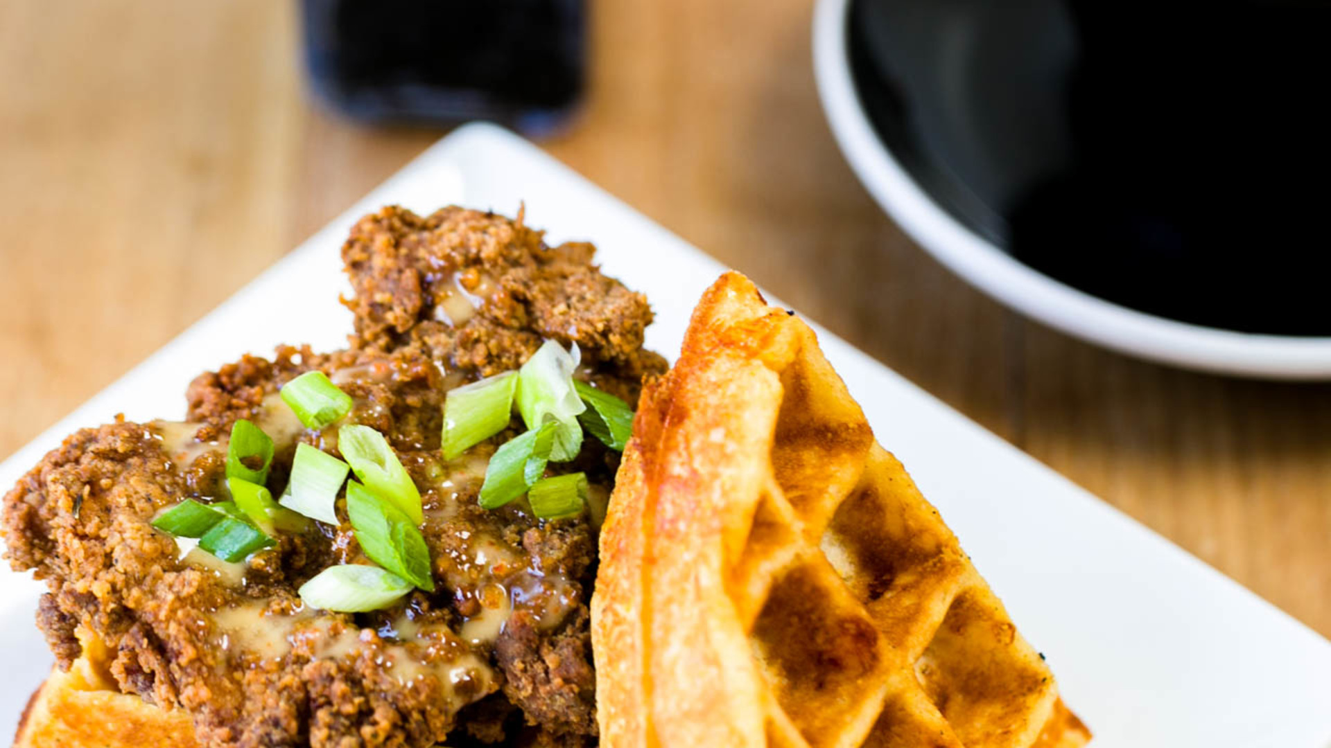 Ap cafe chicken waffle 2