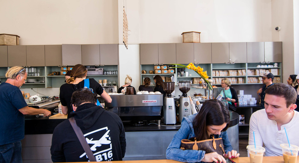 Blue bottle coffee mint street 19