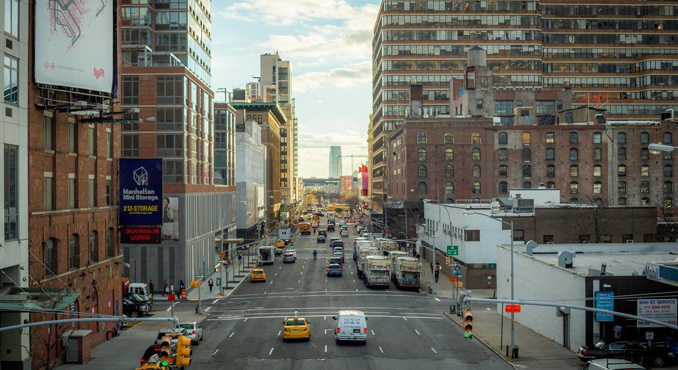 The high line 22