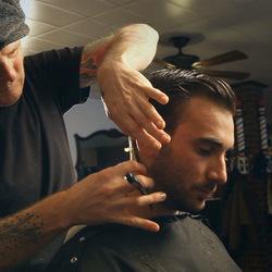 Tomcats barbershop greenpoint nyc untappedcities christopher inoa brookyln