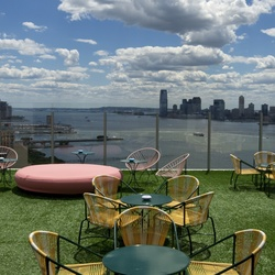 The standard le bain rooftop terrace