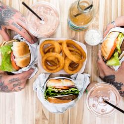 V burger 7