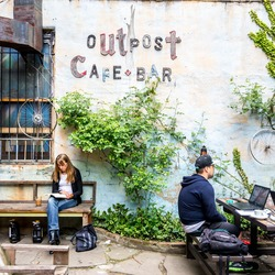 Outpost coffee bar 5