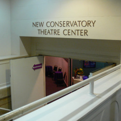 San francisco new conservatory theatre center entrance