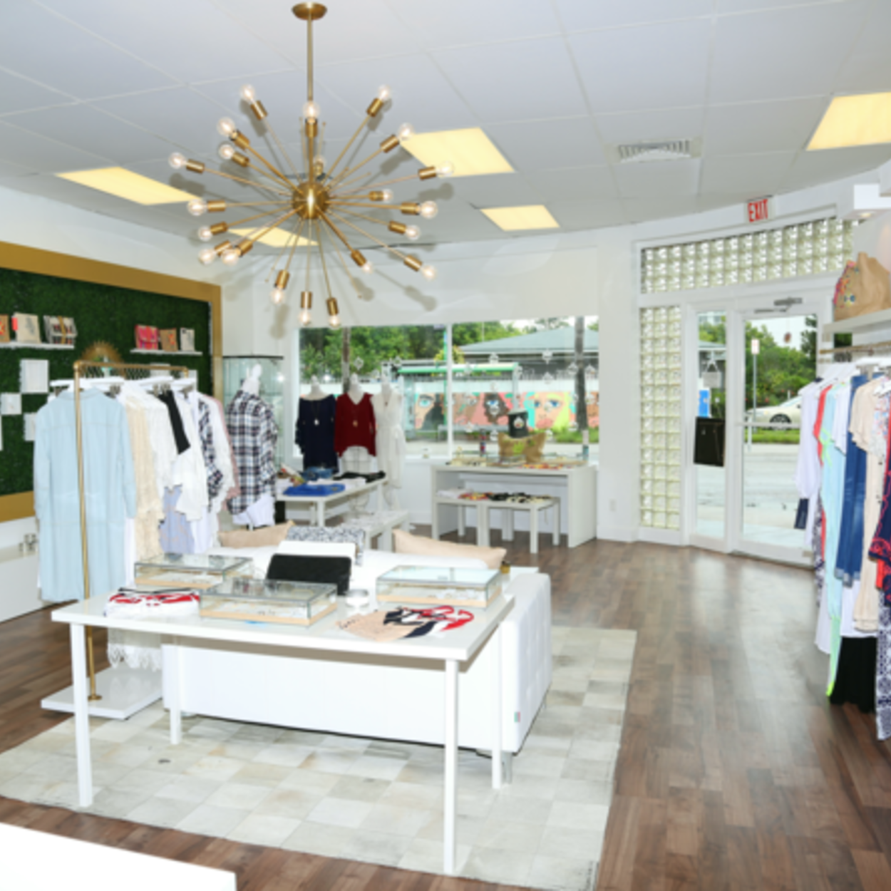 Earthy chic miami boutique grande