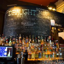 Main bar chalkboard franklin park