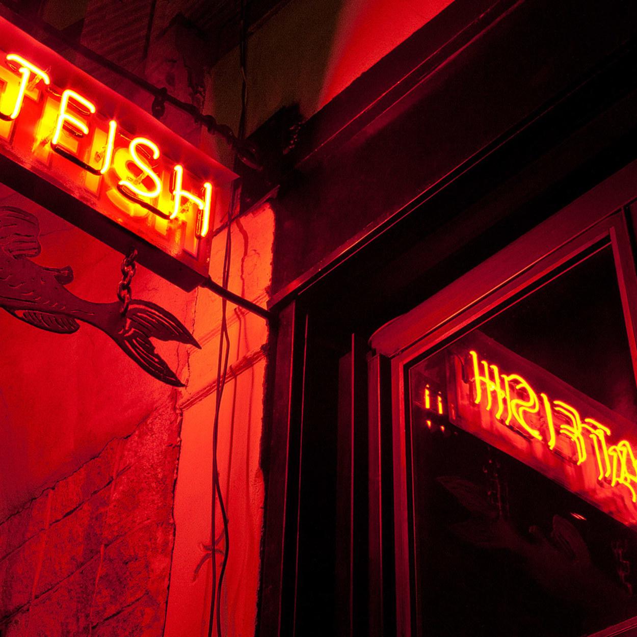 Night catfish sign