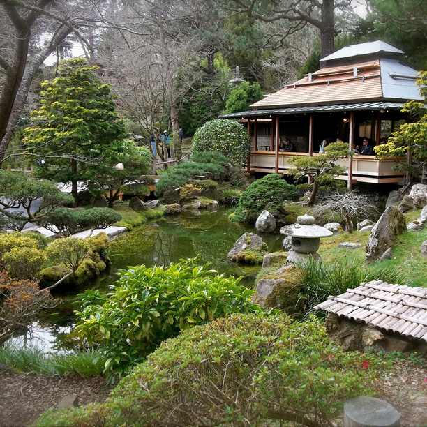 Japanese Tea Garden in Haight-Ashbury - Powered by Nooklyn