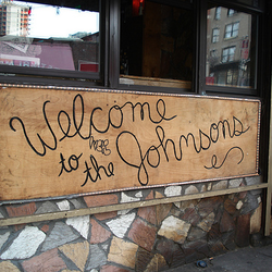 Welcometothejohnsons exterior