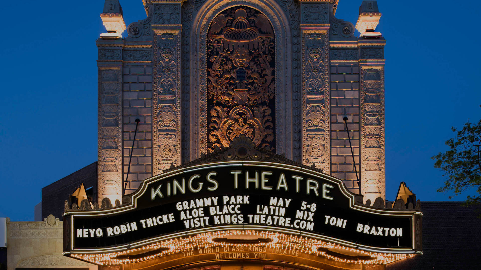 Kings theater card