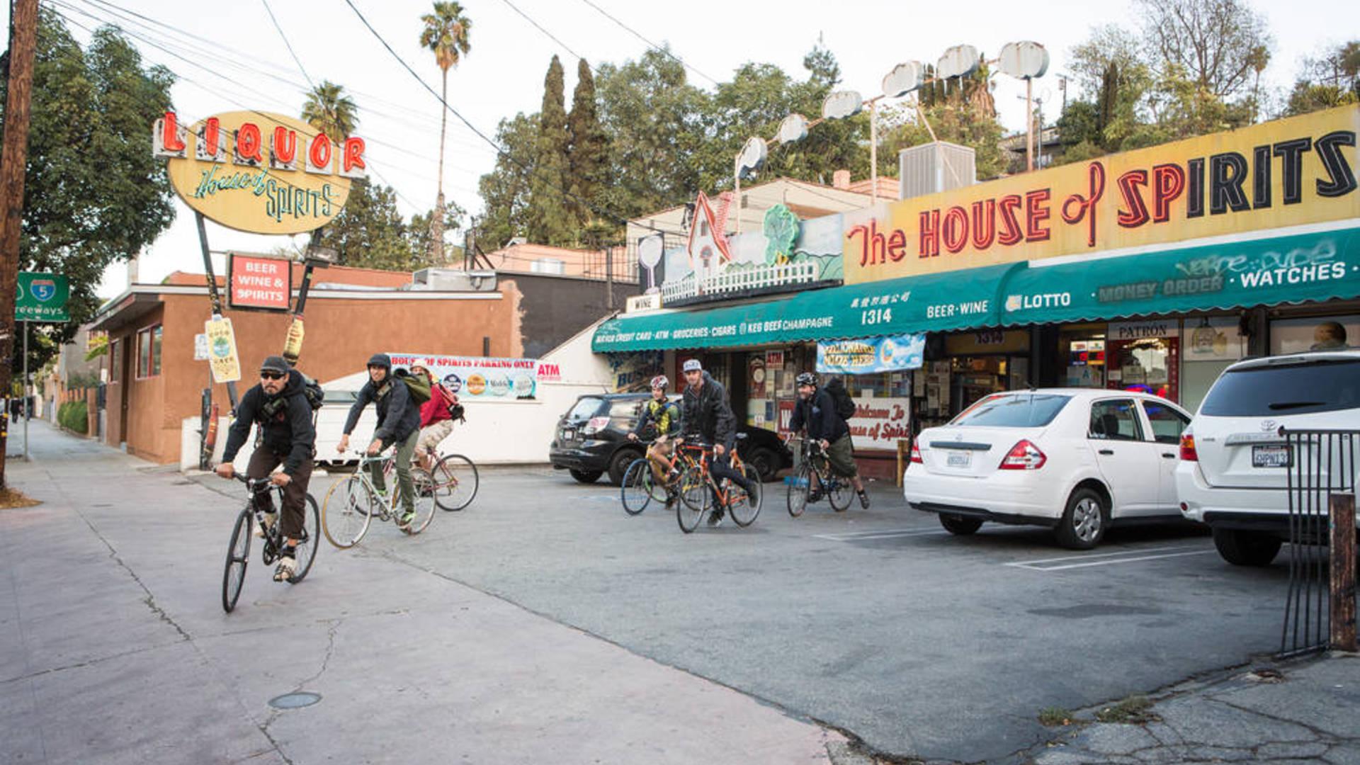 0 4200 0 2800 one la house of spirirs liquor store hipsters biking devon0329