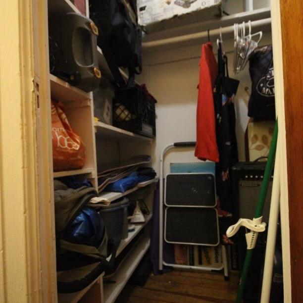 Main closet