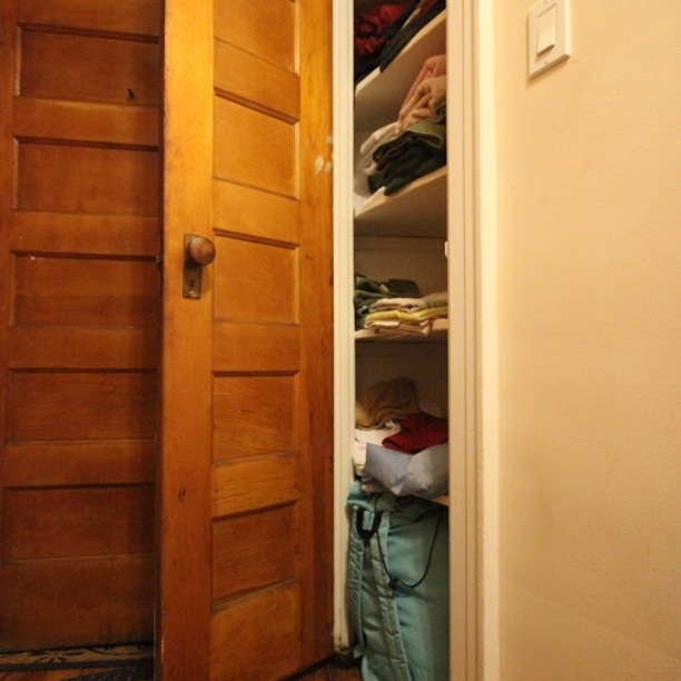 Smaller closet