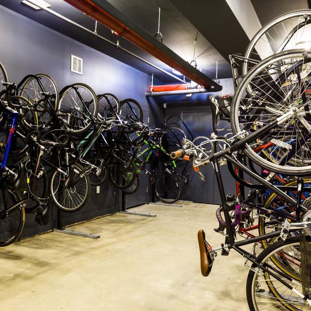 Bike room 1