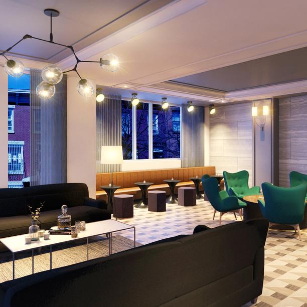 321 wythe lounge area