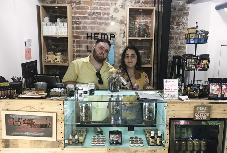 New York City's first CBD-centric retail storefront - Nooklyn