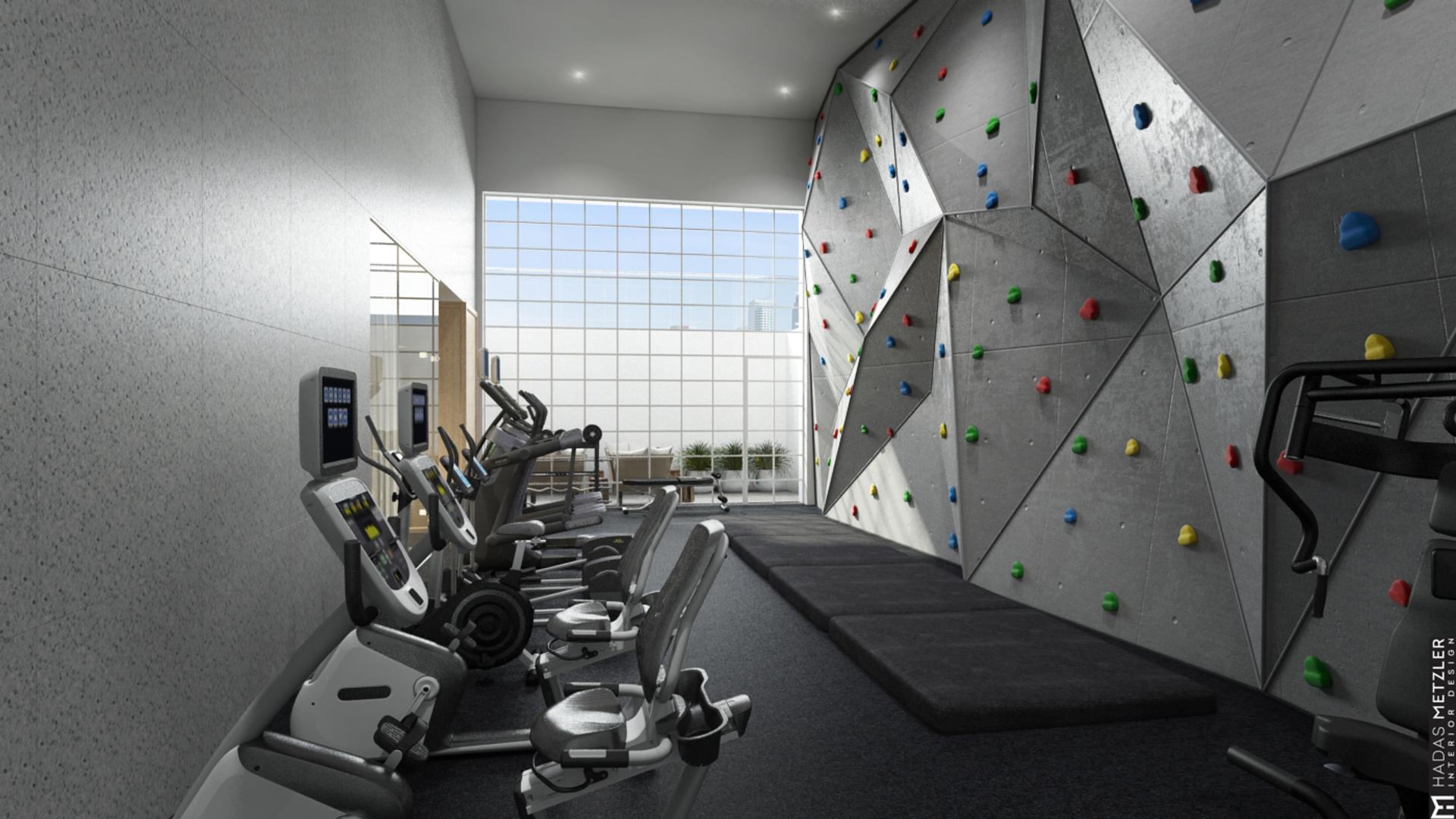 006 climbing wall