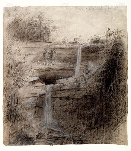 Double Waterfall--Kaaterskill Falls