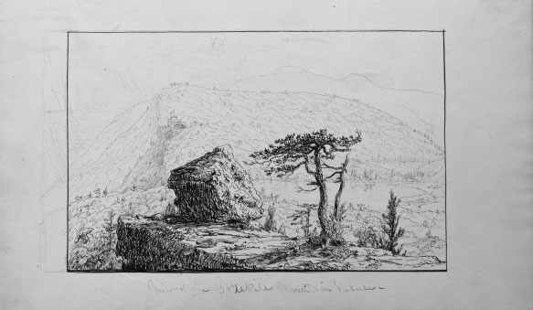 View of the Catskill Mountain House