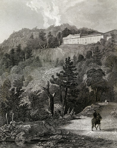 View of the Cattskill Mountain House, N.Y.