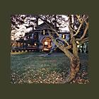 Samuel F. B. Morse House, Exterior View of Locust Grove, Poughkeepsie, NY