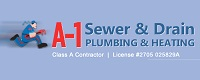 Website for A -1 Sewer & Drain Plumbing & Heating