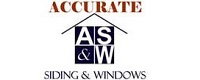 Website for Accurate Siding and Windows, Inc.
