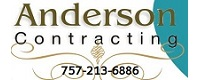 Website for Anderson Contracting