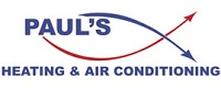 Website for Paul's Heating & Air Conditioning