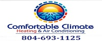 Website for Comfortable Climate Heating & Air Conditioning, Inc.