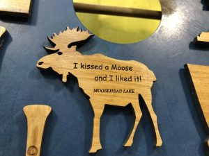 kissed a moose gift