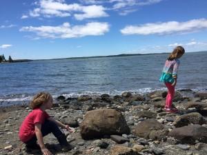 Wisdom children in Maine