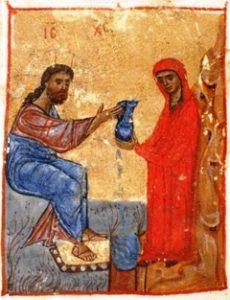 Jesus and Samaritan