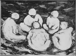Group in circle