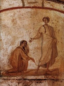 Healing of the Bleeding Woman