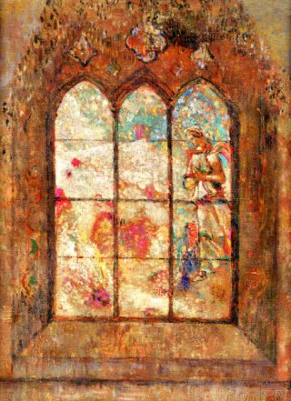 odilon stained glass