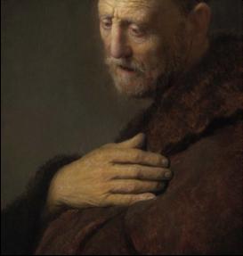 Old Man in Prayer