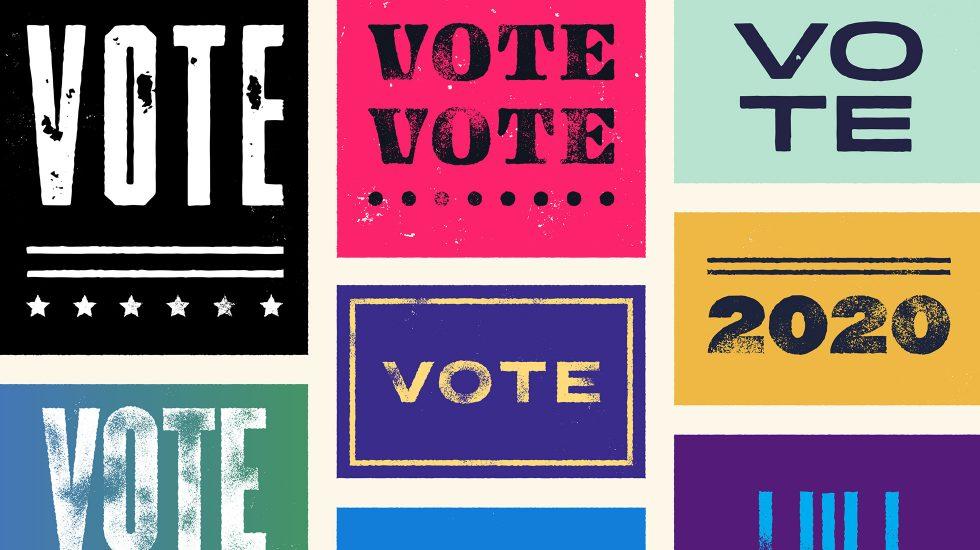 campaign colors illustration