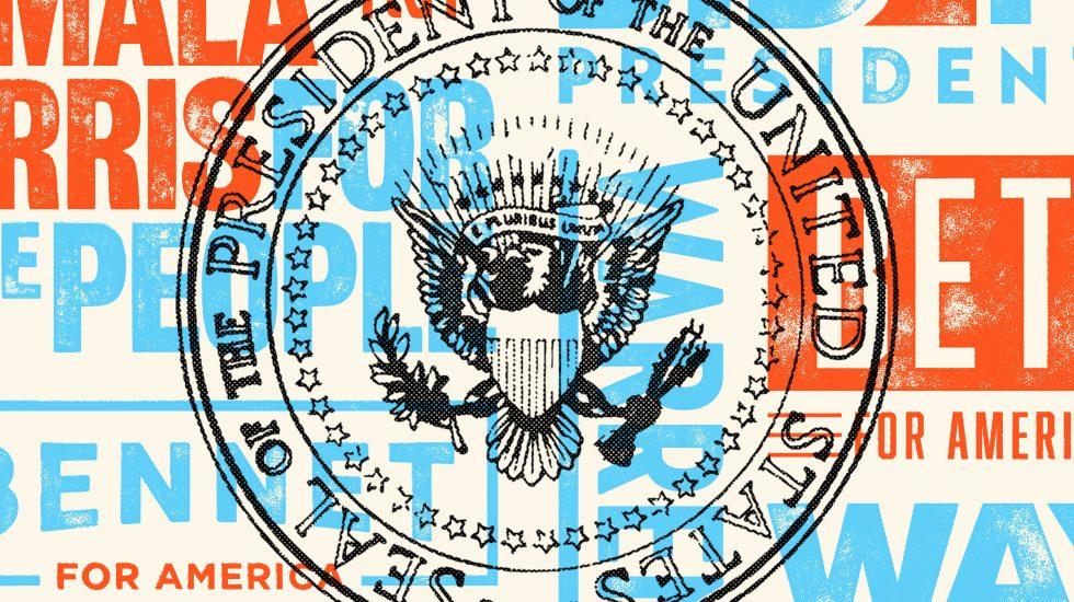 presidential logo illustration
