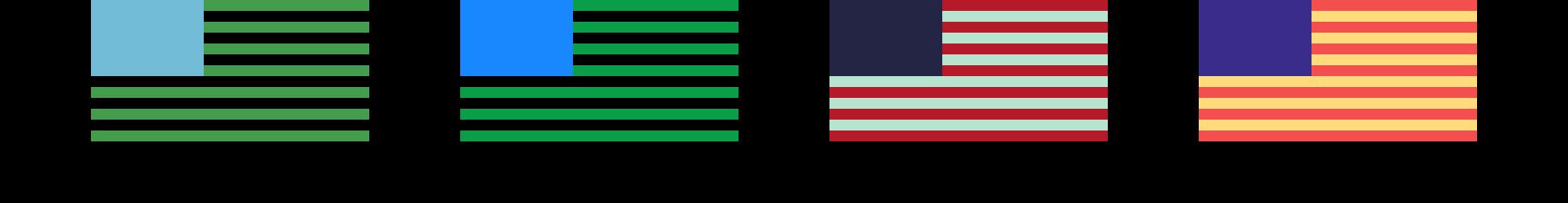 Unconventional campaign colors