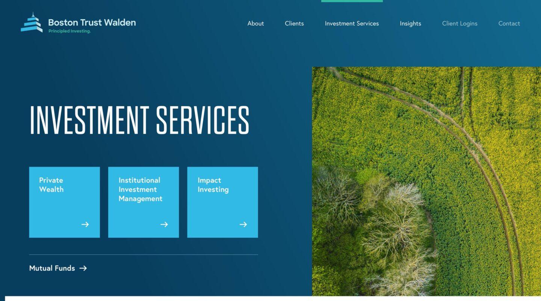 Boston Trust Walden Investment Services