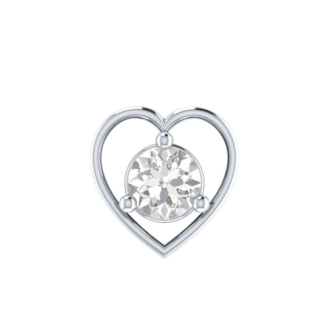 Diamond Labret Stud Uk
