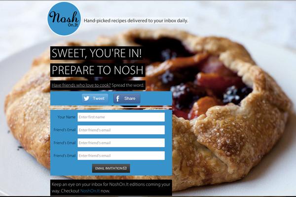 NoshOnIt - image 2 - student project