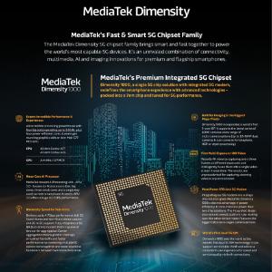 MediaTek Announces Dimensity, World's Most Advanced 5G Chipset Family