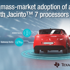 TI Introduces New Low Power Automotive Processor Platform