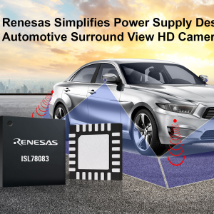 Renesas Announces New PMIC for Automotive Cameras