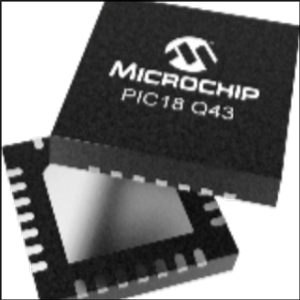 PIC18-Q43 Microcontroller from Microchip Adds Peripherals