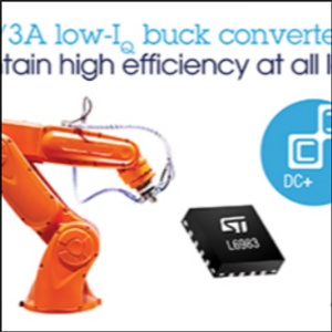 ST Launches Highly Integrated and Flexible Synchronous DC/DC Converters