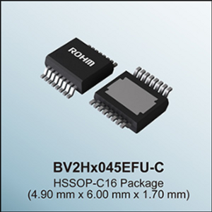 ROHM Introduces 1st Intelligent Power Devices For Standalone System Protection