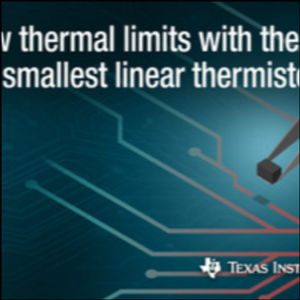 TI's new temperature sensors offer 50% higher accuracy, are industry's smallest
